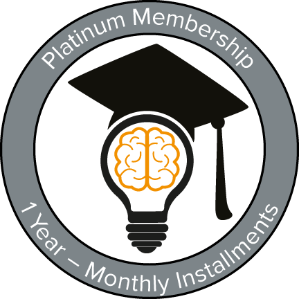 platinum membership year - monthly